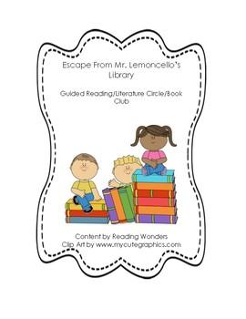 Escape From Mr. Limoncello's Library Book Club