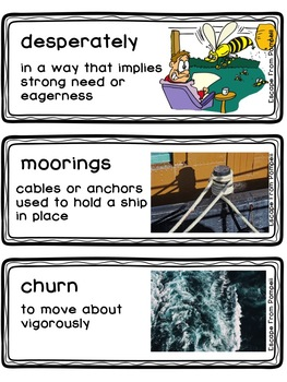 Escape From Pompeii  Readygen Grade 4 Unit 3 Vocabulary