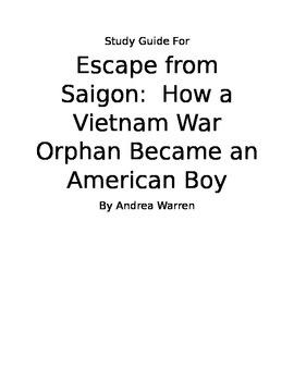 Escape From Saigon Study Guide