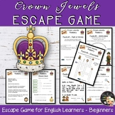 Royal Family Activities Escape Game Crown Jewels