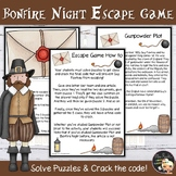 Guy Fawkes Gunpowder Plot Escape Game EFL - Level 3