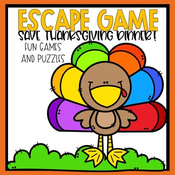 Escape Game Save Thanksgiving Dinner Fun Games and Puzzles