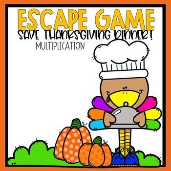 Escape Game Save Thanksgiving Dinner  Multiplication