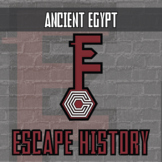 Escape History - Ancient Egypt - Escape Room - Distance Learning Compatible