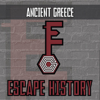Escape History - Ancient Greece - Escape the Room Style Activity