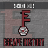 Escape History - Ancient India - Escape the Room Style Activity