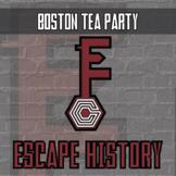 Escape History - Boston Tea Party - Escape Room - Distance
