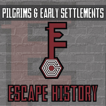 Escape History - Pilgrims & Early Settlements - Escape the Room Style Activity