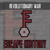 Escape History - Revolutionary War - Escape the Room Style Activity