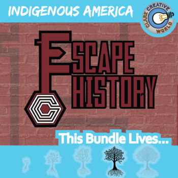 Escape Indigenous American History -- Escape the Room Social Studies Games