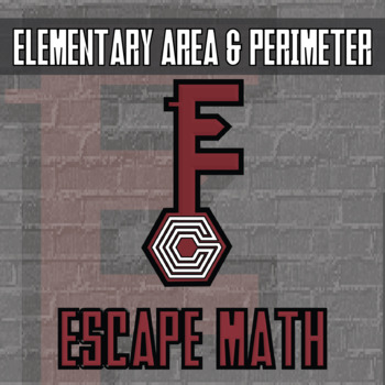 Escape Math - Area & Perimeter Elem -- Escape the Room Style Class Activity