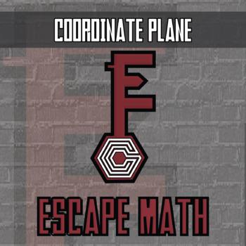 Escape Math - Coordinate Plane - Escape the Room Style Activity