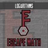 Escape Math - Logarithms - Escape the Room Style Activity