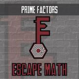 Escape Math - Prime Factors (Rainforest Theme) - Distance Learning Compatible