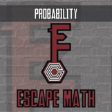 Escape Math - Probability (African Wildlife Theme) -- Escape Room Style Activity