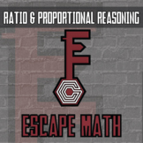 Escape Math - Ratio & Proportional Reasoning (Marine Life Theme) -- Escape Room