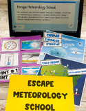 Escape Meteorology School: 100% Digital & Non-Digital Vers