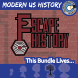 Escape Modern U.S. History -- Escape the Room Social Studies Games