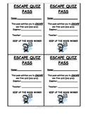 Escape Quiz Pass