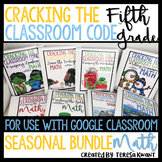 Escape Room 5th Grade Math Seasonal Bundle Cracking the Classroom Code™