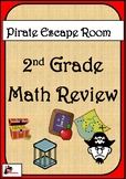 Escape Room Activity - 2nd Grade - Math Review