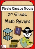Escape Room Activity - 3rd Grade - Math Review