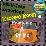Escape Room Activity: Solving Multi-Step Equations