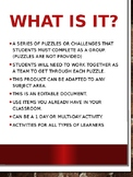 Escape Room Activity-Use things you already have with your classroom