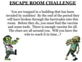 Escape Room Activity with simplifying expressions