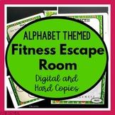 Escape Room - Alphabet PowerPoint Game