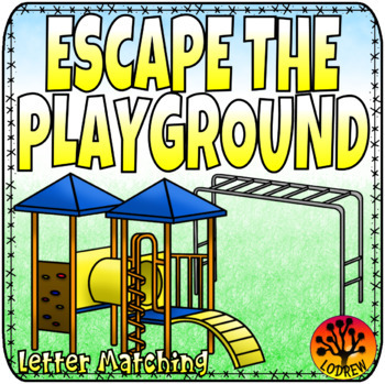 Escape Room Alphabet Centers Literacy Activities Movement Friends Playground