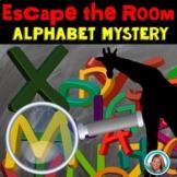 Escape Room Alphabet Zoo Animal Mystery Pre-K - 1st