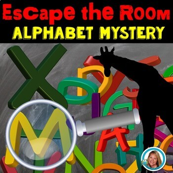 Escape Room Team Building Alphabet Review | Zoo Themed