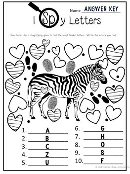 Escape Room Team Building Alphabet Review   Zoo Themed