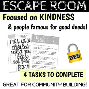 Escape Room v1 | Any Content Area | Social Skills - Critical Thinking Skills
