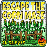 Escape Room Autumn Centers Autumn Activities Fall Centers Corn Maze 2D Shapes