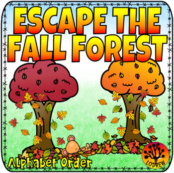 Escape Room Autumn Centers Autumn Activities Fall Centers Forest Math Literacy