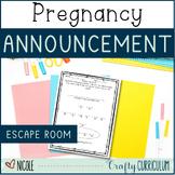 Escape Room Baby Announcement