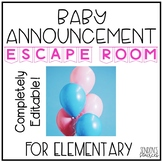 Baby Announcement Solve the Room Escape Room