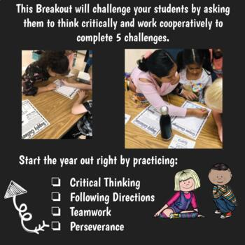 Escape Room Back to School Challenge