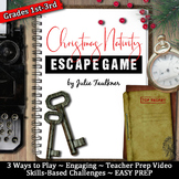 Escape Room Break Out Box Game, Christmas Nativity Element