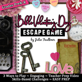 Escape Room Break Out Game, Valentine's Day Preschool/Kind