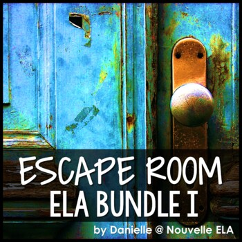 Escape Room Bundle - Shakespeare, The Odyssey, Lord of the Flies, Back to School