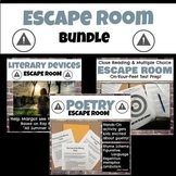 Escape Room Bundle: Poetry, Close Reading and Multiple Cho
