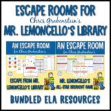 Escape Room Bundle for Mr. Lemoncello's Library Books