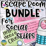 Escape Room Bundle for Social Skills