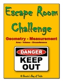 Escape Room Challenge - Geometry Measurement