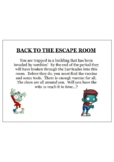 Escape Room Challenge with equations, fractions, and more!