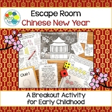 Escape Room: Chinese New Year! Breakout Activity for Pre-K