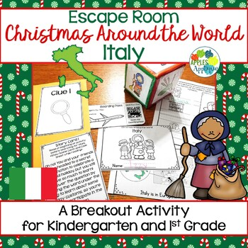 Escape Room: Christmas Around the World! Italy